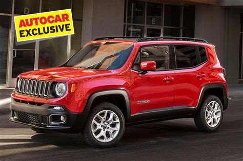 Jeep Car Models In India Jeep Bets Big On Smaller Suvs For India Autocar India