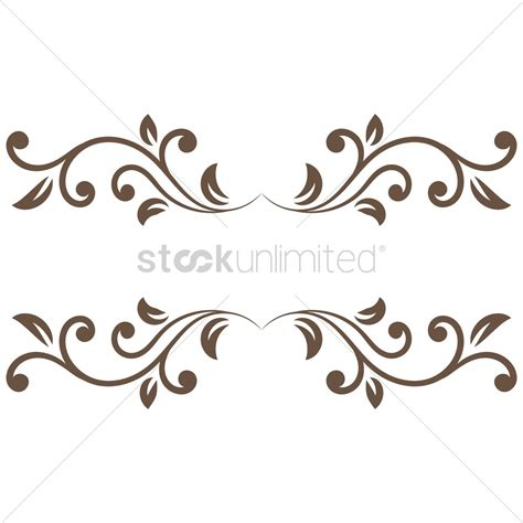 how to create a vector decorative frame in illustrator decorative frame border vector image 1873560