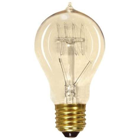 Coil Light Bulbs by 60w 120v A19 E26 Vintage Reproduction Loop Coil Bulb