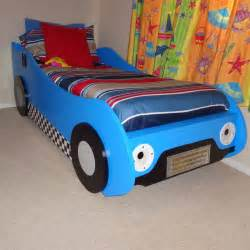 Toddler Car Bed With Roof Diy Racing Car Bed Woodworking Plans