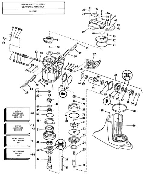 omc stringer parts diagram 84 omc stringer 800 seal info required page 1 iboats
