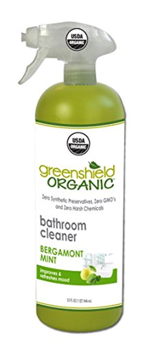 green shield bathroom cleaner greenshield organic usda organic bathroom cleaner 32