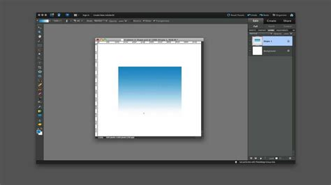 Color Box 4 In 1 how to create a simple gradient within a shape using