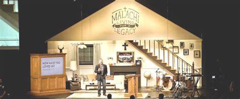 living room set design church stage design ideas