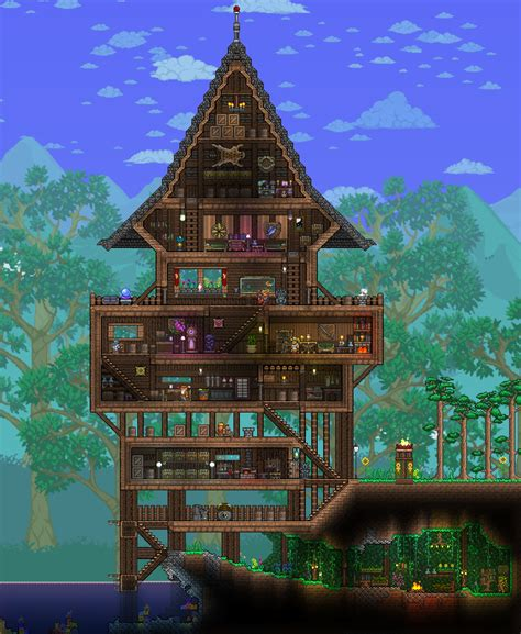 Really Cool Bedroom Ideas pc ballin houses by eiv page 4 terraria community