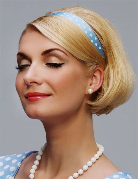hairstyles with sport headbands 33 best headbands images on pinterest hair accessories
