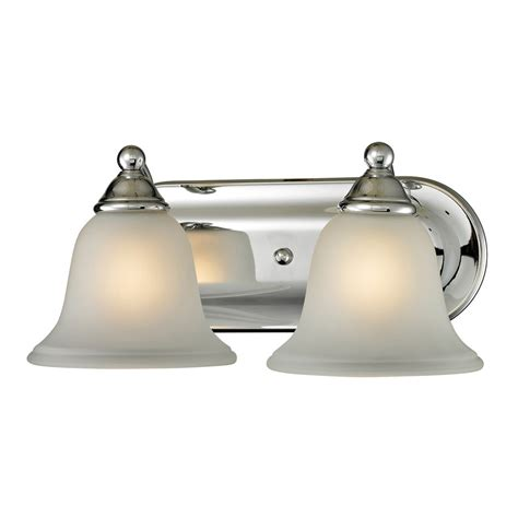 home depot bath bar lighting titan lighting 2 light bath bar in chrome the home depot