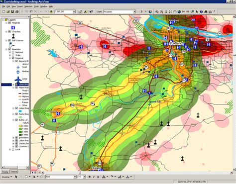 spatial pattern analysis gis g i s geography 355 geographic information systems