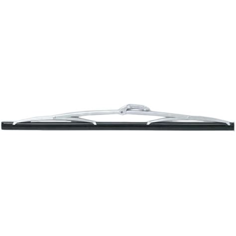 boat windshield wiper blades afi deluxe stainless steel curved wiper blade west marine
