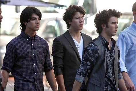 7 Reasons To The Jonas Brothers by Nick Jonas In The Jonas Brothers On Set In Downtown La