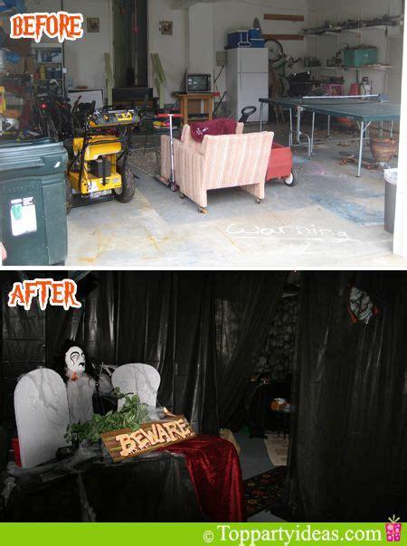 halloween garage themes 217 best images about halloween garage haunts on pinterest