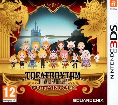 Theatrhythm Final Fantasy Curtain Call Sur Nintendo 3ds