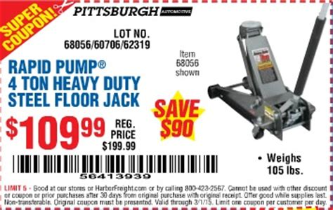 Tools 4 Flooring Coupon by Harbor Freight Tools Coupon Database Free Coupons 25