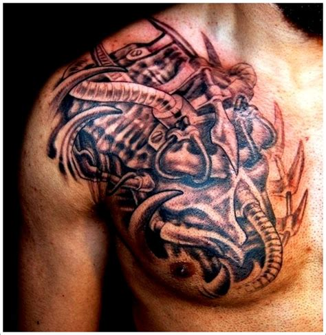 badass tattoo ideas for men 35 bad evil designs
