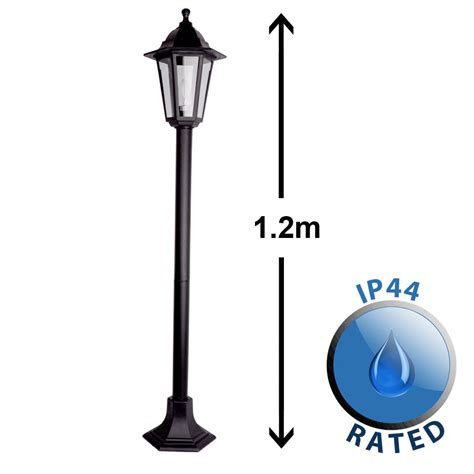 old style l post vintage style ip44 outdoor garden patio street light l