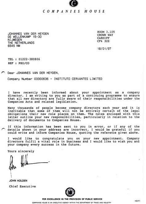 business letter your ref our ref 6 february 1997 your ref psu co on behalf of mr