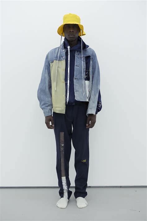 cold wall collaborate  readymade levis
