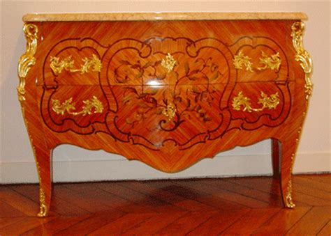 commode marqueterie dessus marbre commodes