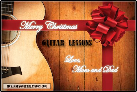 gift certificates mckinney guitar lessons