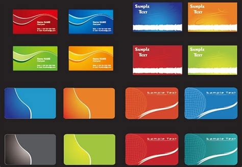 corel pvc card template coreldraw id card templates free vector 24 638