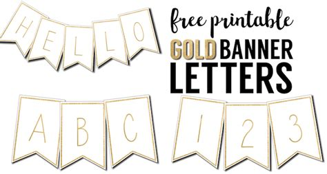 Free Printable Banner Letters Templates Paper Trail Design Banner Letter Template