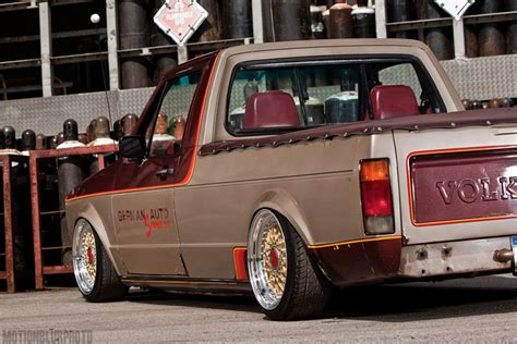 volkswagen rabbit pickup stanced bbs rs on bagged volkswagen caddy rabbit pickup jdmeuro com