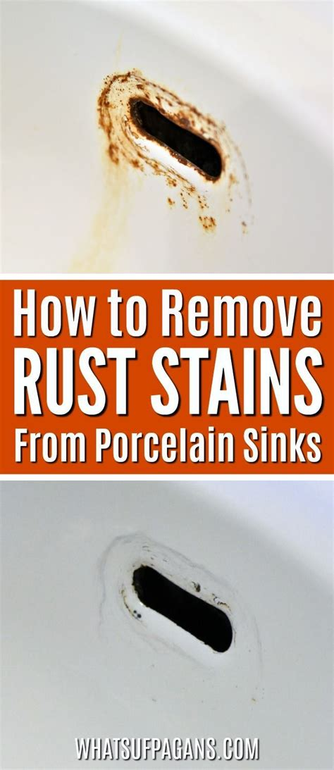 how to remove rust from a bathtub best 25 how to repair sinks ideas on pinterest painting