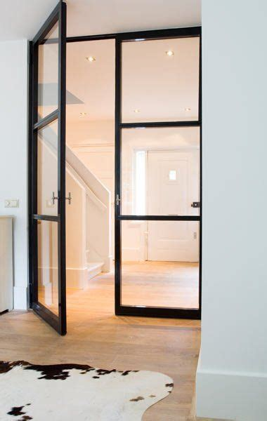 Interior Metal Doors 17 Best Images About Glazen Tussendeur On Ramen Window Bed And Entrance
