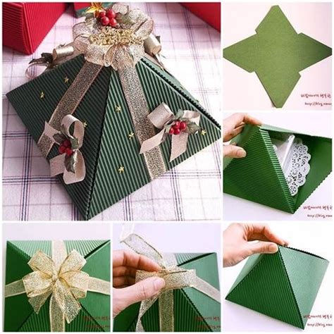 how to make a pyramid gift box pictures photos and