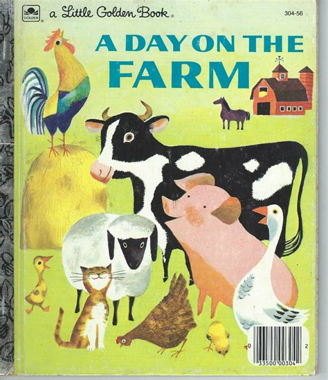 springtime babies golden book books 6 golden books day on farm year on farm baby farm