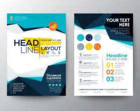 free design brochure templates brochure template design vector free