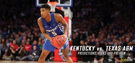 uk wildcats basketball m kentucky vs texas a m basketball predictions and preview