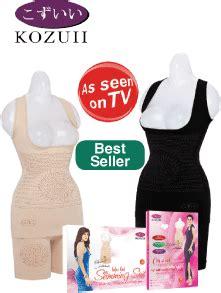 Korset Pelangsing Kozui jaco tv shopping kozui slimming suit kozuii slimming