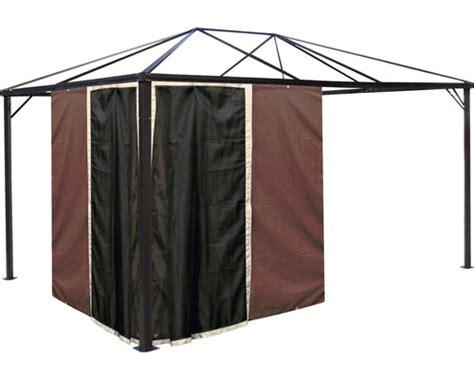 pavillon 3x4m kaufen seitenteile und moskitonetze pavillon florida 3x4m braun