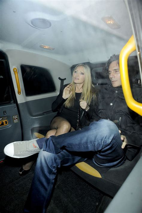 ty comfort caprice and ty comfort out late in london zimbio