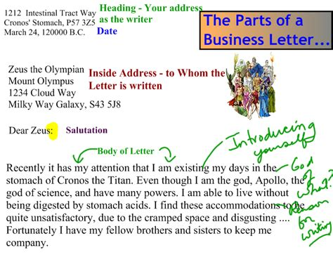 business letter to zeus 28 images business letter to