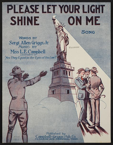 Shine Your Light On Me by Let Your Light Shine On Me Library Of Congress