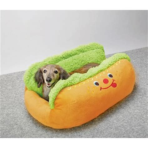 hot dog bun dog bed hot dog bun dog bed dog breeds picture