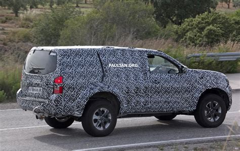 Navara Taned spied nissan np300 navara based suv seen testing paul image 499129