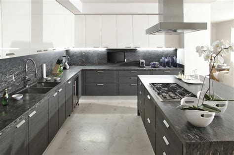 grey and white kitchen gray white kitchen interior design ideas