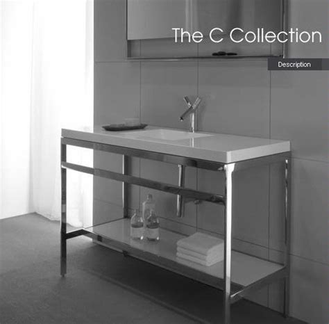 steel bathroom vanity wetstyle stainless steel console table modern madness