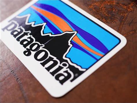 Patagonia Car Sticker