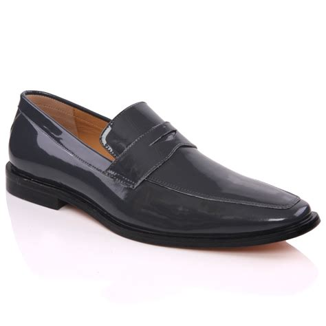 unze mens formal karma designed leather dress shoes