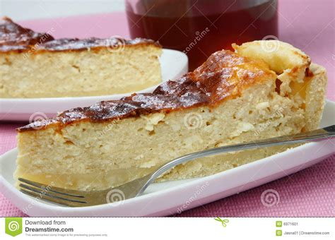 Cottage Cheese Pastry by Slices Of Cottage Cheese Pie Stock Image Image 6971601