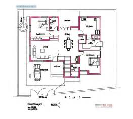 house plan blueprints image detail for modern house plan 2800 sq ft kerala home design architecture home