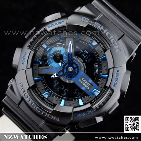 Gshock W01s Black L Blue buy casio g shock black blue 30th anniversary ltd ga
