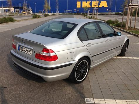 bmw beamer 2001 mein silver black beamer 3er bmw e46 quot limousine