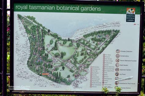 Royal Botanic Gardens Map Tasmanian Botanical Botanical Garden Photography