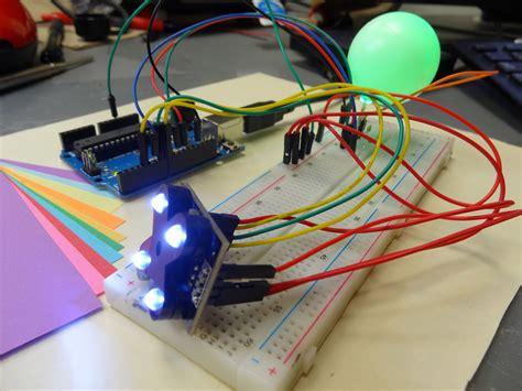 arduino color sensor lesson 15 cool arduino color sensor project