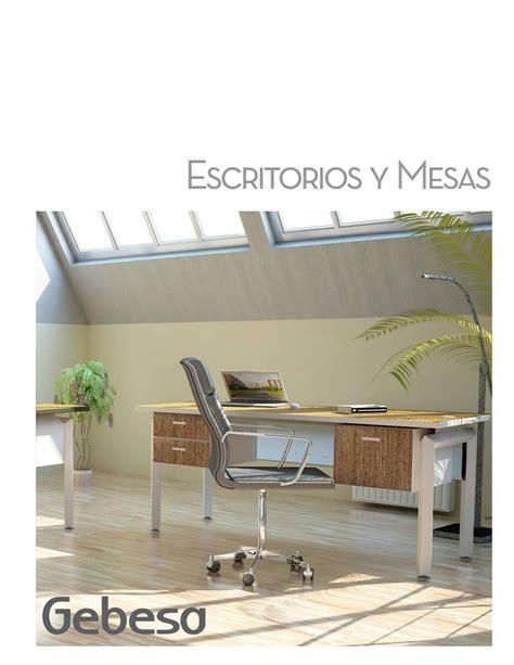 catalogo escritorios cat 225 logo escritorios y mesas by gebesa issuu
